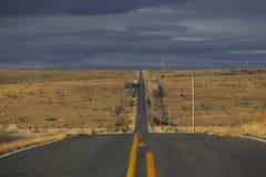 длинный путь Стоковые Фото