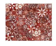 Добро пожаловать к красному цвету джунглей Стоковые Изображения RF