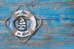 Добро пожаловать на борту Стоковое Фото