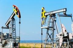 Добыча нефти Стоковые Фотографии RF