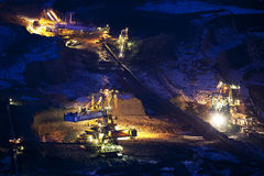 добыча угля Стоковая Фотография RF