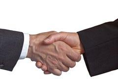 доверенное партнерство рукопожатия Стоковые Изображения RF