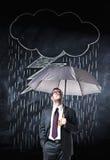 Дождь на мне Стоковые Изображения RF