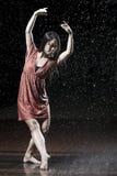 дождь танцора балета Стоковая Фотография