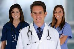 Доктора и медсестра Стоковые Фотографии RF
