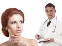Доктор женщины профессии Стоковое Изображение