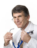 доктор smiing Стоковое фото RF
