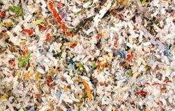документы завертывают в бумагу shredded Стоковые Фото
