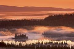 долина пожара Стоковое фото RF