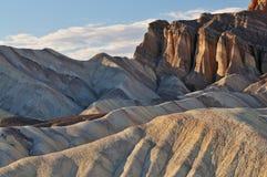 долина смерти каньона золотистая Стоковая Фотография