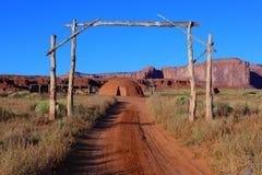 долина США Юты памятника Стоковые Изображения RF