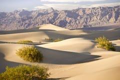 долина sandscape смерти Стоковое Фото