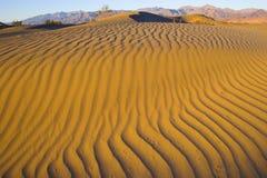 долина sandscapes смерти Стоковое Изображение