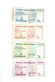 доллары Зимбабве Стоковая Фотография RF