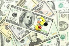 доллары таблеток Стоковые Фото