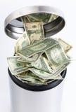 доллары ящика Стоковая Фотография
