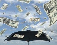 доллары дождя Стоковое Изображение RF