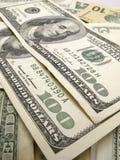 доллары 100 Стоковое Изображение