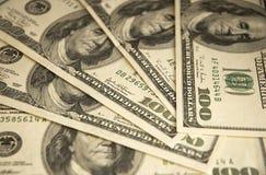 доллары 500 Стоковая Фотография RF
