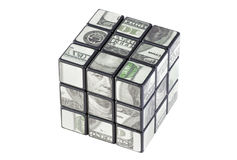 доллар кубика Стоковые Фотографии RF
