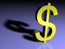 доллар могущественный Стоковое Изображение
