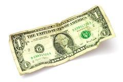 доллар одно Стоковая Фотография