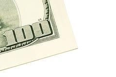 доллар 100 одно счета Стоковая Фотография