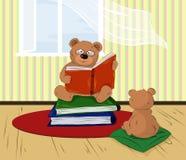 домашнее чтение Стоковая Фотография RF