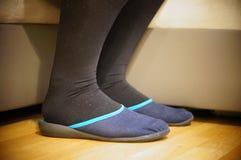 Домашние ботинки Стоковые Изображения