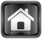Домашний значок Стоковое Изображение