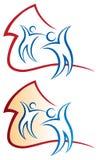 Домашний логотип Стоковое Изображение
