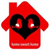 Домашний сладостный дом Стоковое фото RF