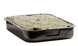 домашний сделанный lasagna Стоковое Изображение