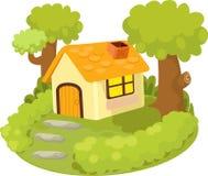 домашняя иллюстрация Стоковые Изображения RF