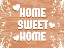 Домашняя сладостная домашняя предпосылка Стоковое Изображение
