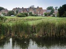 Дома в Rye, Англии, Великобритании Стоковые Фотографии RF