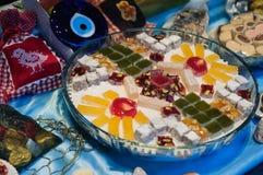 Домодельный магазин десерта Стоковое Фото