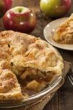 Домодельный органический десерт яблочного пирога Стоковое фото RF