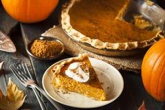 Домодельный пирог тыквы для Thanksigiving Стоковые Фото