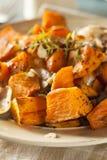 Домодельный сваренный сладкий картофель Стоковая Фотография