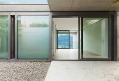 Дом, взгляд от веранды Стоковая Фотография