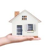 Дом в руке Стоковые Фото