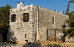 Дом в старом Datca Стоковое Изображение RF