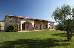 Дом в Тоскане Стоковые Фотографии RF
