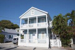 Дом в Key West, Флориде Стоковые Фотографии RF