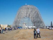 Дом годовщины исследовательскийа центр 75th Ames NASA открытый Стоковые Фотографии RF
