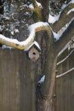 Дом зимы Стоковое Фото