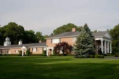 дом кирпича большая Стоковое Фото
