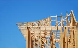 дом конструкции вниз Стоковое Изображение