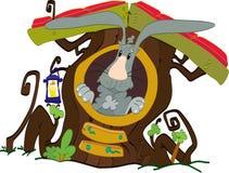 Дом кролика Стоковые Фотографии RF